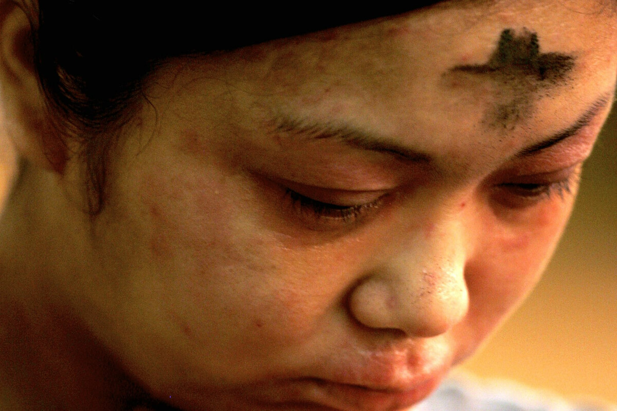 Ash Wednesday midday service