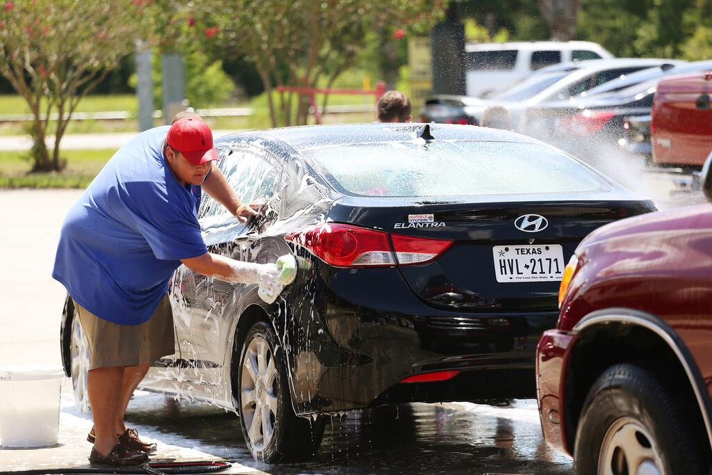 #LOVEBACK at the Car Wash